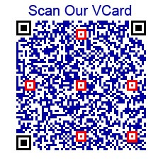 Scan Our Contact Information Into Your Smart Phone